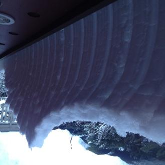 Crazy overhang!